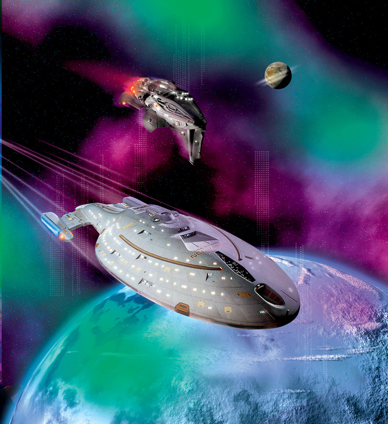 Star Trek Voyager: Distant Shores (2005, PB, NEW) 10th Anniversary stories
