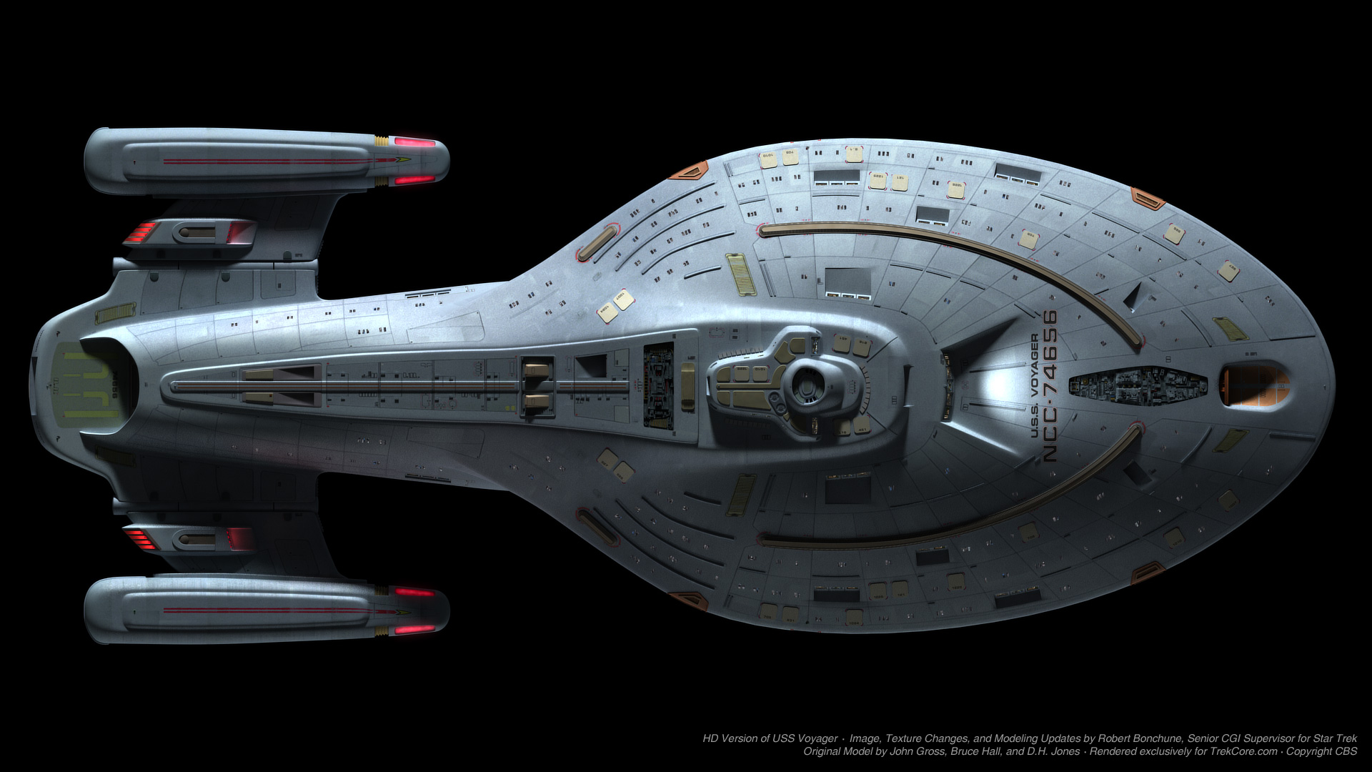 Voyager's Visual Effects: Creating the CG Voyager with Rob