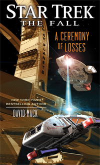 Star Trek The Fall: A Ceremony of Losses - Cover Art