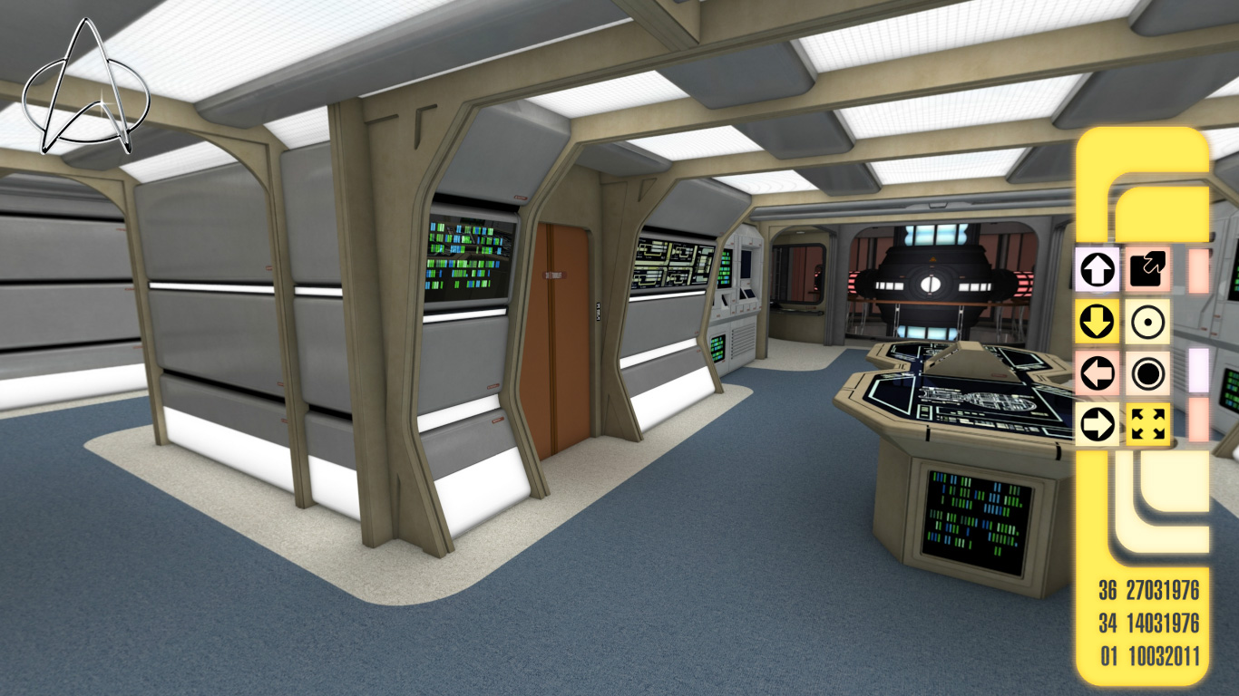 Exclusive New Preview Images from On Board the USS Enterprise