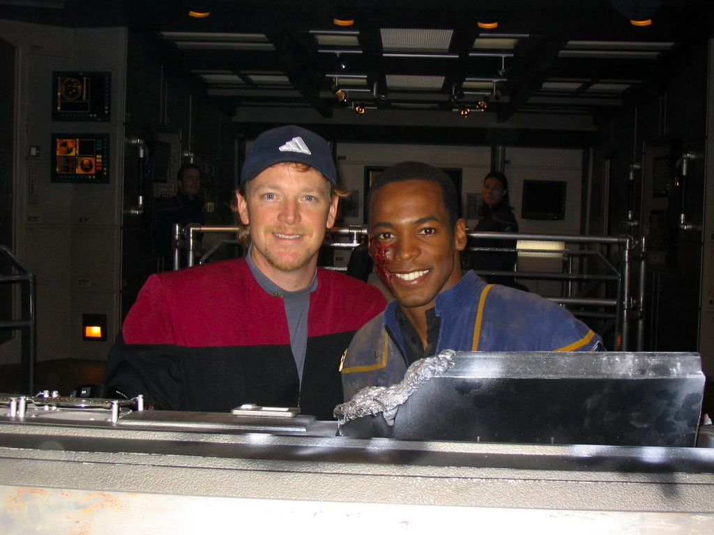 Image result for star trek enterprise behind the scenes